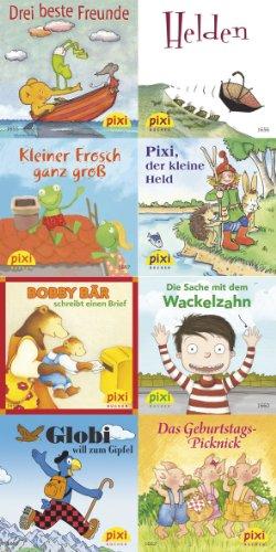9783551907417: Pixi-Bundle 8er Serie 184. Kleine Abenteuer - große Helden