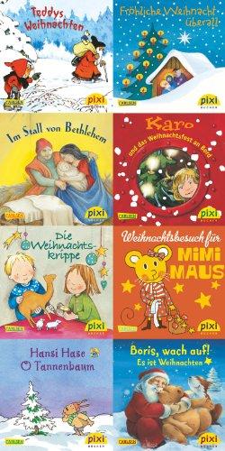 9783551907509: Pixi-Bundle 8er Serie W 26. Weihnachten: Pixi schm�ckt den Weihnachtsbaum