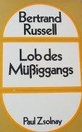9783552014534: Lob des Müssiggangs