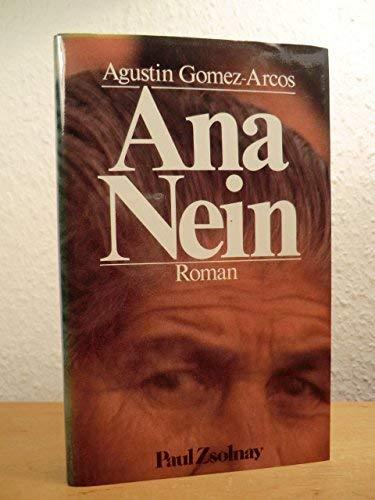 9783552031159: Ana Nein.