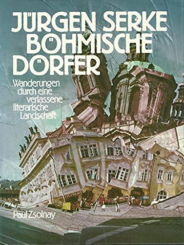 9783552039261: Bohmische Dorfer: Wanderungen durch eine verlassene literarische Landschaft (German Edition)