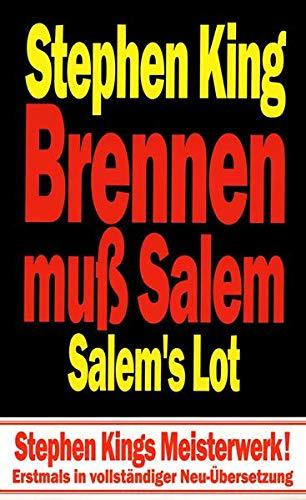 9783552047020: Brennen muß Salem: Salem's Lot