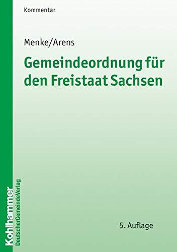 9783555014722: Gemeindeordnung für den Freistaat Sachsen