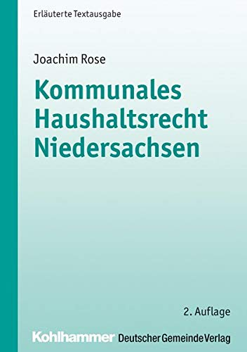 9783555015354: Kommunales Haushaltsrecht Niedersachsen