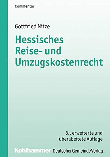 Hessisches Reise- und Umzugskostenrecht: Gottfried Nitze