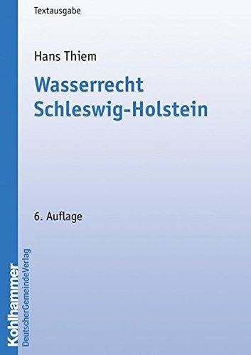 Wasserrecht Schleswig-Holstein: Hans Thiem