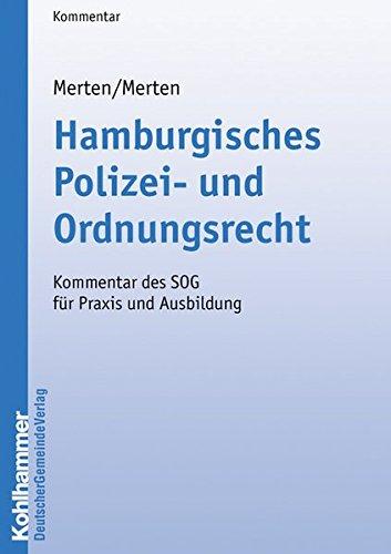 Hamburgisches Polizei- und Ordnungsrecht: Karlheinz Merten