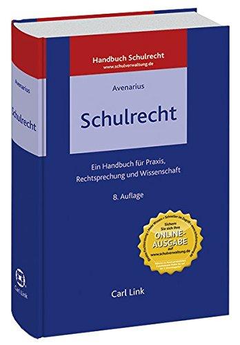 9783556011850: Schulrecht