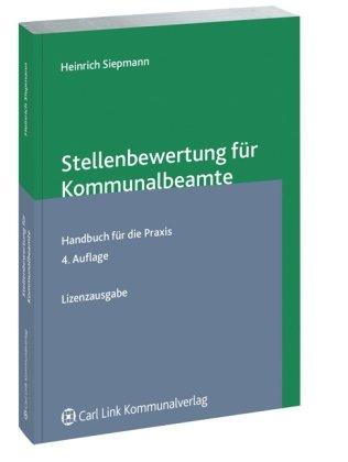 9783556061886: Stellenbewertung für Kommunalbeamte: Handbuch mit Bewertungsbeispielen