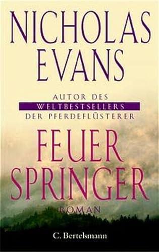 9783570003190: Feuerspringer. (German Edition)