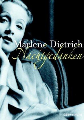 Nachtgedanken - Dietrich, Marlene,Pfleiderer, Reiner