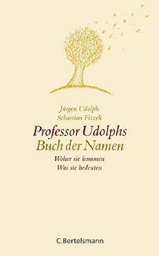 9783570008799: professor_udolphs_buch_der_namen