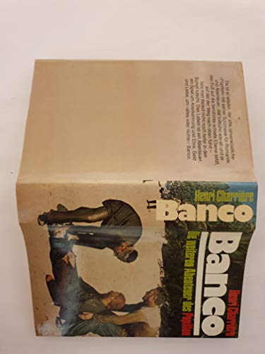 9783570026915: Banco The Further Adventures of Papillon