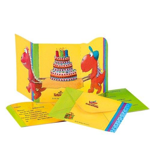 9783570039670: Der kleine Drache Kokosnuss - Einladungskarte