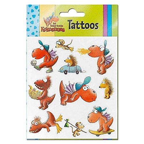 9783570039793: Der kleine Drache Kokosnuss - Tattoos