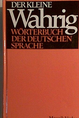 9783570049648: Der Kleine Wahrig Worterbuch Der Duetschen Sprache