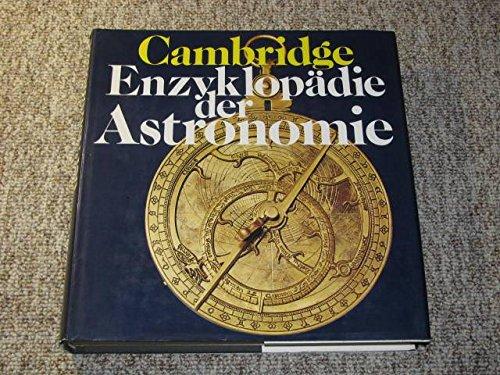 9783570062739: Cambridge Enzyklopädie Der Astronomie