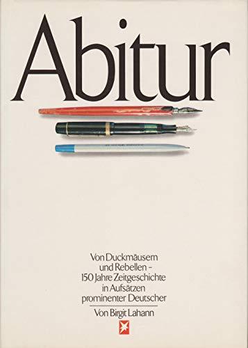 abitur by birgit lahann abebooks. Black Bedroom Furniture Sets. Home Design Ideas