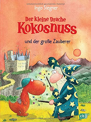 9783570128077: Der kleine Drache Kokosnuss und der große Zauberer