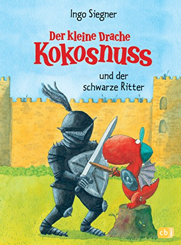 9783570128084: Der kleine Drache Kokosnuss und der schwarze Ritter
