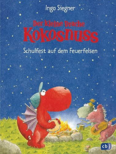 9783570129418: Der kleine Drache Kokosnuss 05 - Schulfest auf dem Feuerfelsen