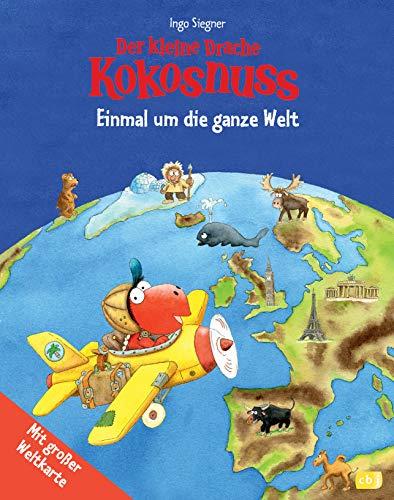 9783570156391: Der kleine Drache Kokosnuss - Einmal um die ganze Welt