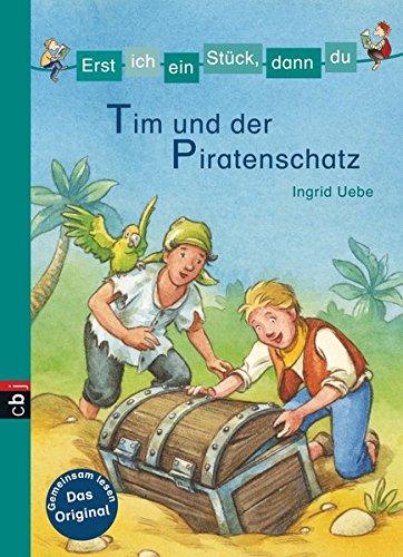 Minibücher für die Schultüte - Erst ich ein Stück, dann du - Tim und der Piratenschatz: cbj