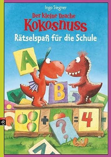 9783570171950: Der kleine Drache Kokosnuss - Rätselspaß für die Schule