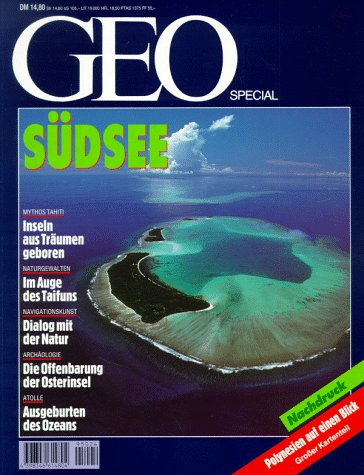 9783570190586: Geo Special Kt, Südsee