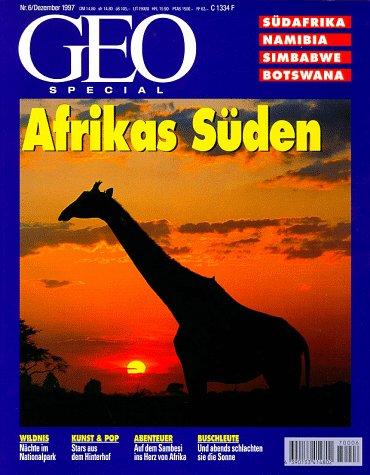 9783570191040: Geo Special Kt, Afrikas S�den