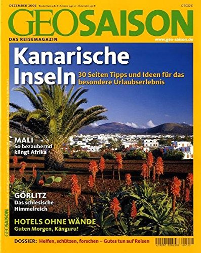 9783570196854: Geo Saison Kanarische Inseln: 30 Seiten Tipps und Ideen für das besondere Urlaubserlebnis