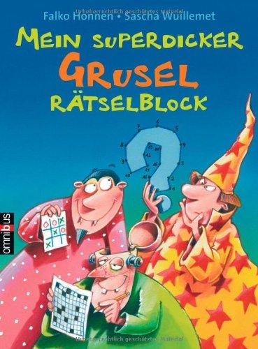 9783570219126: Mein superdicker Grusel-Rätselblock. Mit Lösungskontrolle