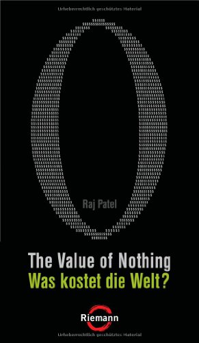 9783570501245: The Value of Nothing - Was kostet die Welt?
