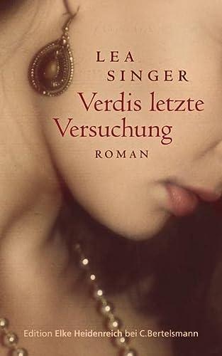 9783570580318: Verdis letzte Versuchung