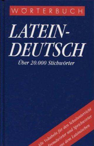 9783572005406: Wörterbuch Latein-Deutsch