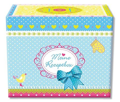 9783572080908: Rezeptbox mit 50 Rezeptkarten: liebevoll gestaltete Rezept- und Trennkarten in stabiler Box mit Klappdeckel