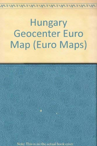 9783575031549: Hungary GeoCenter Euro Map