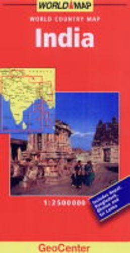 9783575032096: India (GeoCenter World Country Maps)