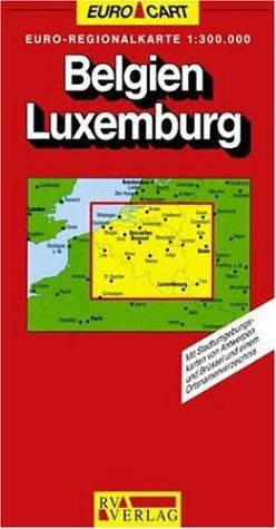 EUROMAP BELGIE LUXEMBURG 1 1300000 (GeoCenter Euro: DIVERSE