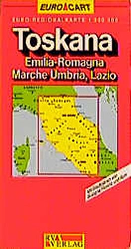 9783575112484: Italie 3 Toscane. 1/300 000: Tuscany Sheet 3 (Euro Carte)