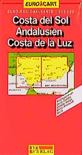 9783575112705: Costa del Sol Andalousien Costa de la Luz : 1/300 000: Costa Del Sol/Andalucia Sheet 7/8 (Euro Carte)