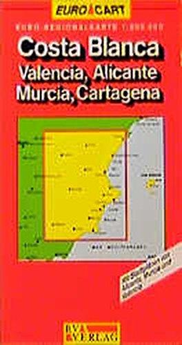 9783575112767: Spain Map: Costa Blanca/Valencia/Alicante/Murcia/Castegna Sheet 6 (GeoCenter Euro Map)