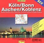 9783575114327: Köln /Bonn und Aachen. Grossraumstadtplan