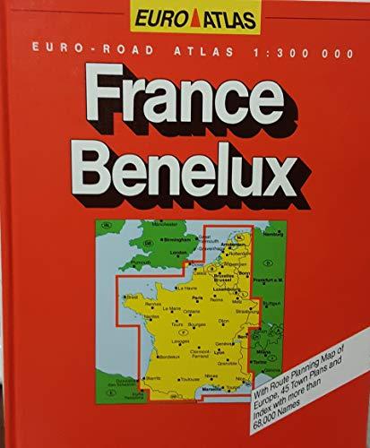 9783575117182: France/Benelux Road Atlas (Euro Atlas)