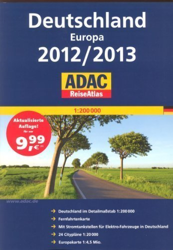 9783575227522: Euro Road Atlas: Germany