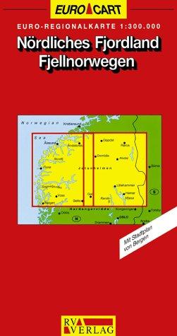9783575332363: Nördliches Fjordland. Fjellnorwegen 1 : 300 000.