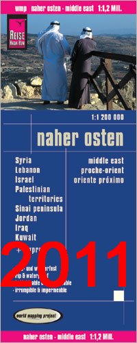 9783575332585: Middle East (World Map) (German Edition)