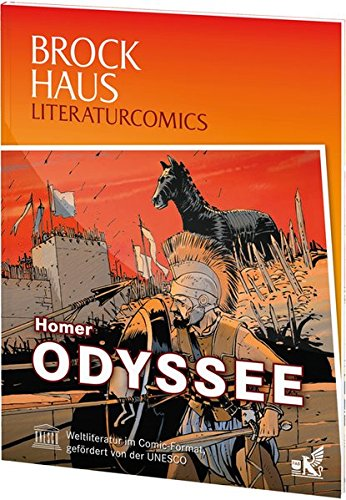 9783577074407: Brockhaus Literaturcomics Odyssee