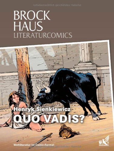 9783577074575: Brockhaus Literaturcomics Quo vadis?