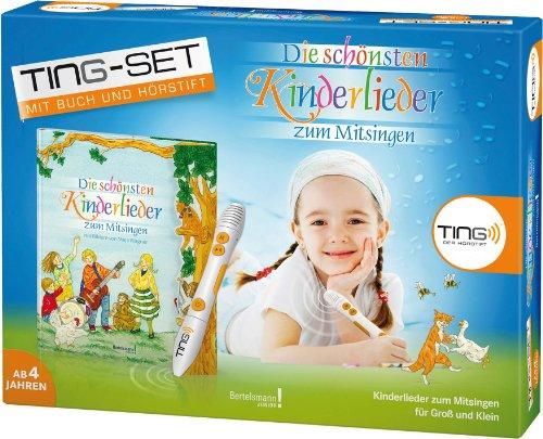 9783577074667: TING Starter-Set Die schönsten Kinderlieder zum Mitsingen: Buch inklusive Hörstift